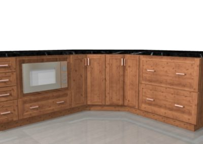 cabinets render 1w3r